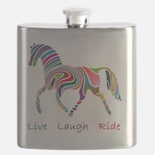 horse rainbow_horselarge live love laugh Flask
