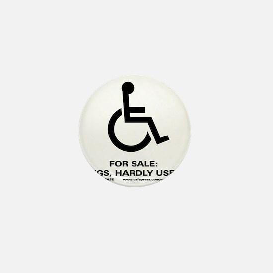 Leg 4 Sale Mini Button
