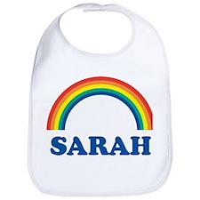 SARAH (rainbow) Bib
