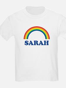 SARAH (rainbow) Kids T-Shirt