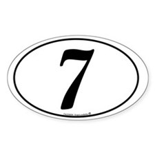 racing-numbers-classic-white-oval-7 Decal