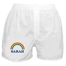 SARAH (rainbow) Boxer Shorts