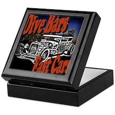 Fast Cars Keepsake Box