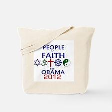 Obama Faith 2012 Tote Bag
