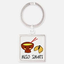 misosmart Square Keychain