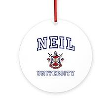 NEIL University Ornament (Round)
