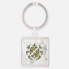 045-StrongBody Square Keychain