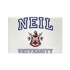 NEIL University Rectangle Magnet