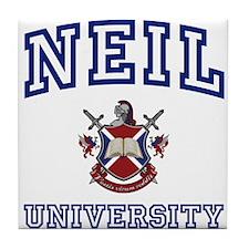NEIL University Tile Coaster