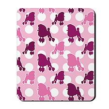 pink_Poodle_ipad Mousepad