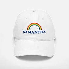 SAMANTHA (rainbow) Baseball Baseball Cap