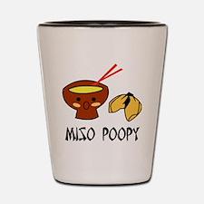 misopoopy Shot Glass