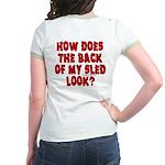 Back of my Sled Jr. Ringer T-Shirt