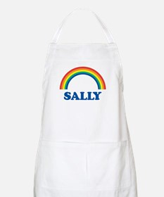 SALLY (rainbow) BBQ Apron