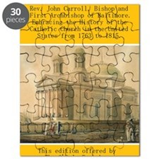 Archbishop Carroll cover back final 02 PNG Puzzle
