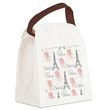 5temp_flip_flops Canvas Lunch Bag