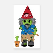 zombiegnome-01 Rectangle Car Magnet