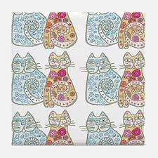kitties Tile Coaster