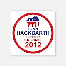 """2012_bryan_hackbarth_main Square Sticker 3"""" x 3"""""""