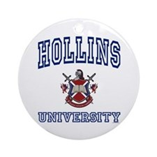 HOLLINS University Ornament (Round)