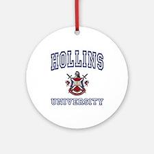 HOLLINS University Ornament (Round)