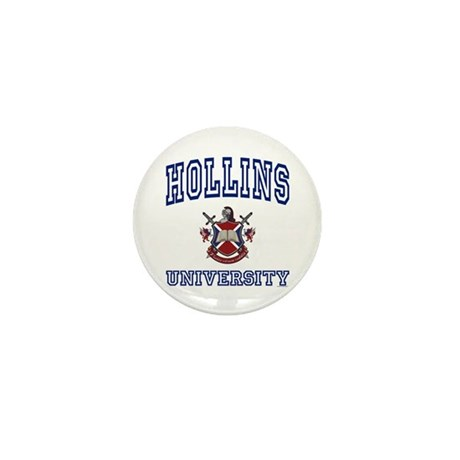HOLLINS University Mini Button