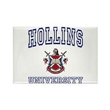 HOLLINS University Rectangle Magnet
