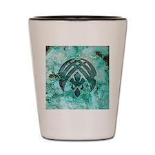 042-MeteorSpike Shot Glass
