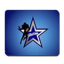 Dallas yard Sign Mousepad