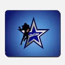 Dallas yard Sign Mousepad