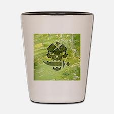 048-PoisonSkull Shot Glass
