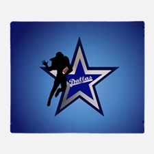 Dallas yard Sign Throw Blanket