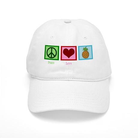 peacelovepineapplewh Cap