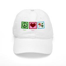 peaceloveveganwh Baseball Cap