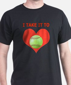 Softball T-Shirts  Gifts, Take It To  T-Shirt