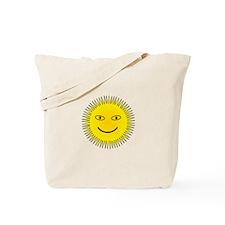 Smiling Sun Tote Bag