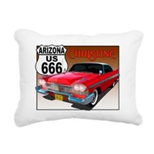 666-AZ-Christine-8x10 Rectangular Canvas Pillow