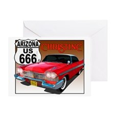 666-AZ-Christine-8x10 Greeting Card