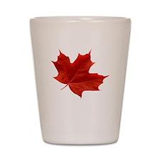 O-Canada-MapleLeaf-Ottawa-4-whiteLetter Shot Glass