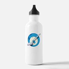 Cereal Killer blk Water Bottle