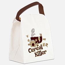 Cereal Killer Canvas Lunch Bag
