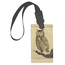 Big eared Owl Luggage Tag