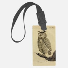 Big eared Owl Luggage Tag