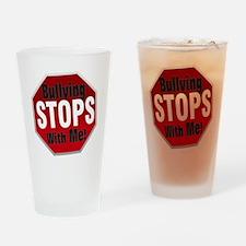 Good-Logo-StopSign Drinking Glass