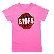 Good-Logo-StopSign Girl's Tee