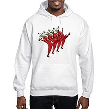 High Kicking Hot Peppers Hoodie