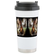 Horses Travel Coffee Mug