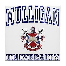 MULLIGAN University Tile Coaster