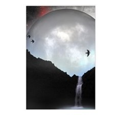 Mightnight Waterfall Postcards (Package of 8)