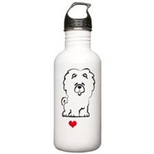 I-Love-My-Chow-Chow-Si Water Bottle